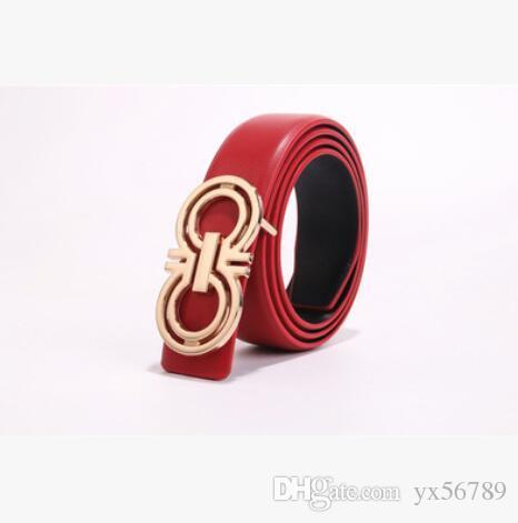 2019 Vendita calda nuova cintura da uomo in pelle nera Cinture da lavoro in vera pelle Cintura di cintura di colore puro modello serpente fibbia per regalo 66738