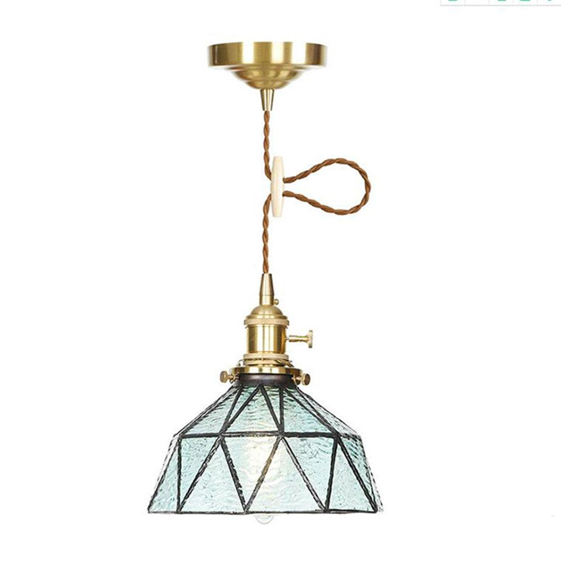 Picture of: Adjustable Pendant Light With Blue Ripple Glass Cover Industrial Edison Hanging Light Retro Ceiling Light Fixture 1 Light Clear Glass Pendant Lighting Glass Pendant Lamp From Gylighting0717 56 29 Dhgate Com