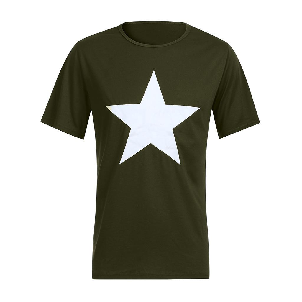 Blusas ocasionales de los hombres de primavera y verano de impresión de manga corta del O-Cuello remata la blusa camisetas de la ropa delgada ocasional de la camisa