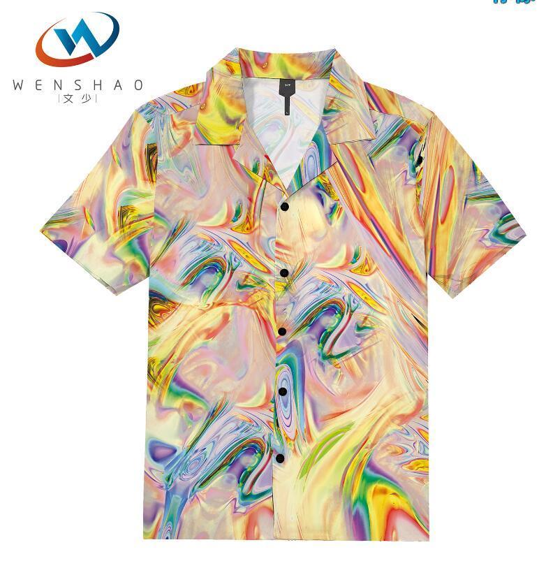 = 2020 ilkbahar yaz marka etiketi elbise erkekler Polo tişört yaka yaka kumaş mektup eğlence erkekler tişörtler ParisJJ49 Marka adı