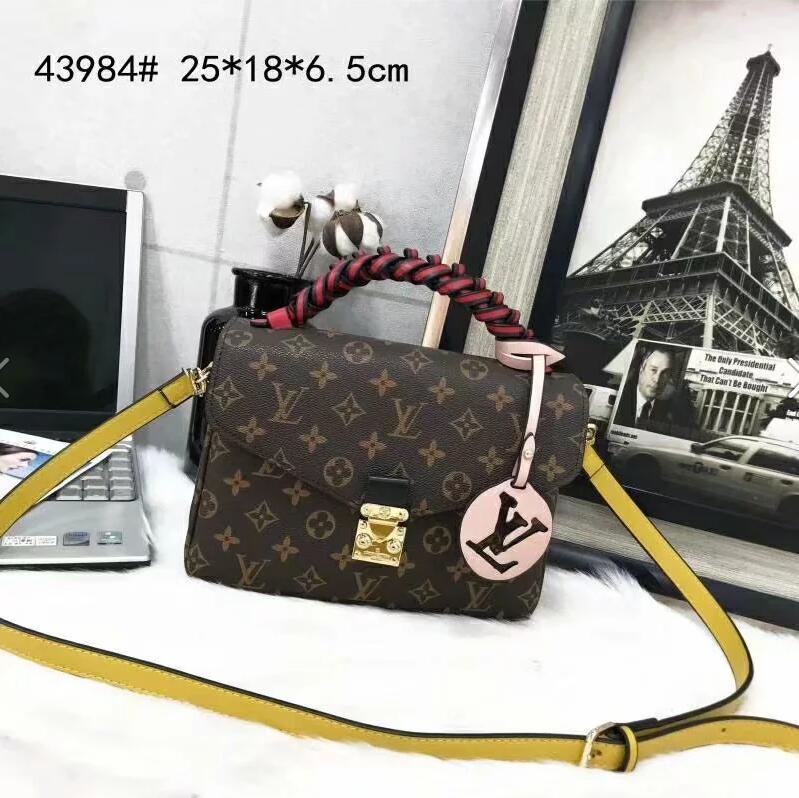 2020 Hot Woman's Handbag Fashion Woman Bag Leather Handbags Shoulder Bag Crossbody Bags for Ladies Messenger handbags wallets dorp ship A029