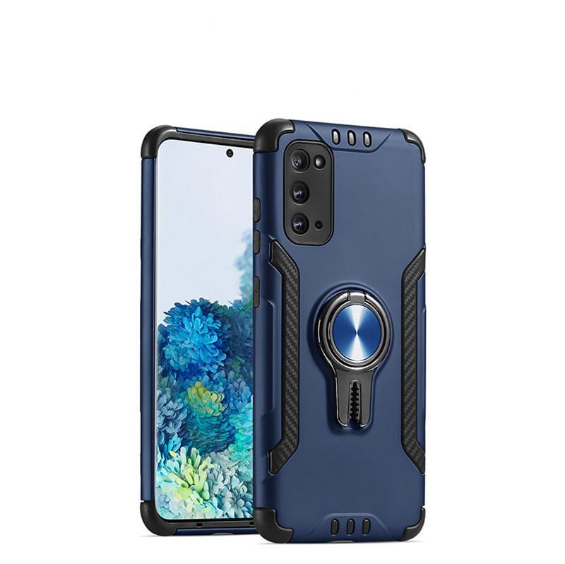 caja del teléfono móvil para Samsung S20 S20 Plus Ultra anticaída cubierta protectora para S11 S11 S11E Plus con soporte del anillo