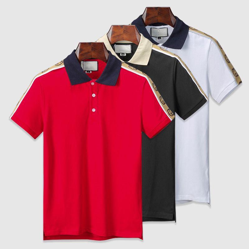 2021 Mens Designer Polo Shirts Men Luxury Polo Casual Men Polo T ...