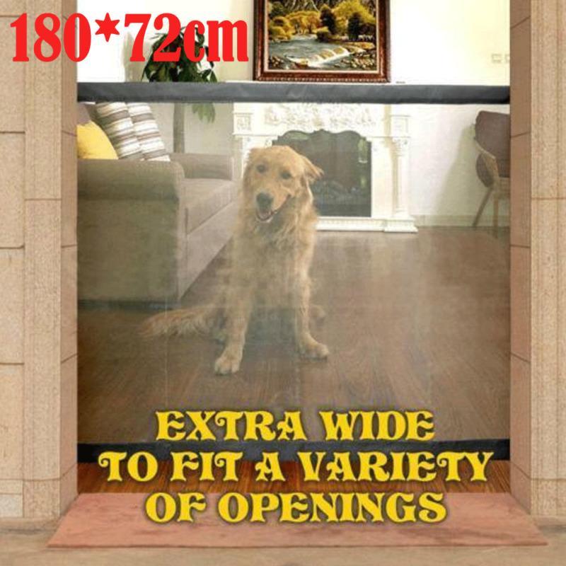 2019 магия-ворота собаки любимчика загородки портативный складной Безопасный предохранитель крытый и открытый безопасность защита магия ворота для собаки кошки Pet горячая