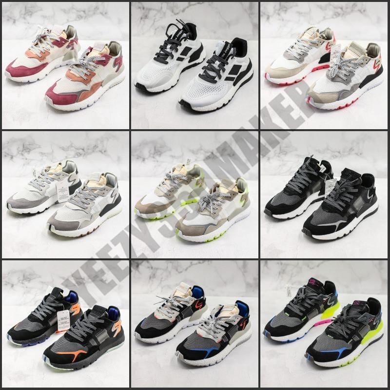 Nite Jogger Bota 3M Running Shoes Designer Sneakers Multi Color sapatilhas confortáveis Homens Mulheres Sports Trainers com caixa original