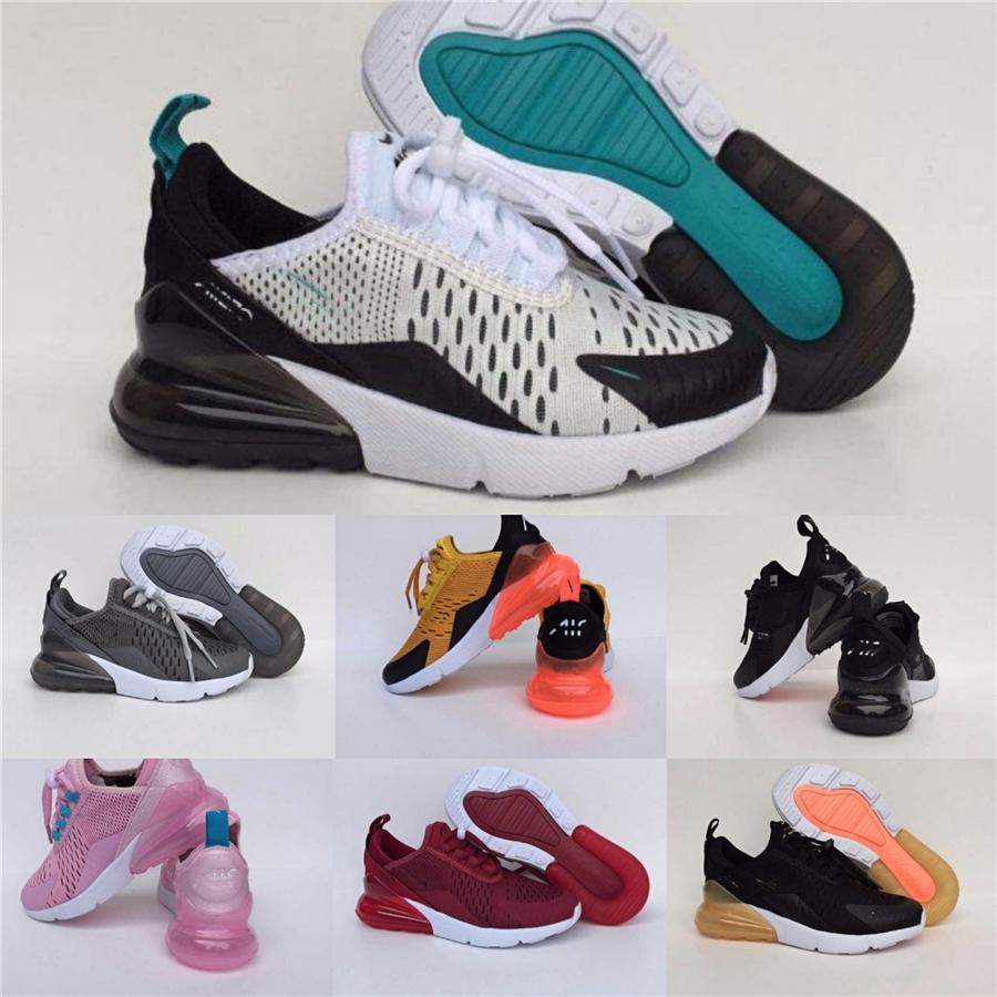 2020 Infant Wave Runners Kids Running Shoes Fashion Toddler Trainers Big Small Boy Girl Hyper Bright Violet Toddler #184