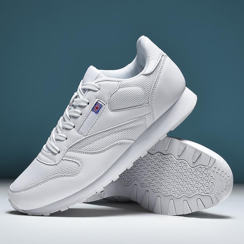 Pareja de golf zapatos de los hombres de verano de peso ligero y transpirable zapatos para caminar de golf Deportes de deslizamiento no sandalias blancas de los hombres negros