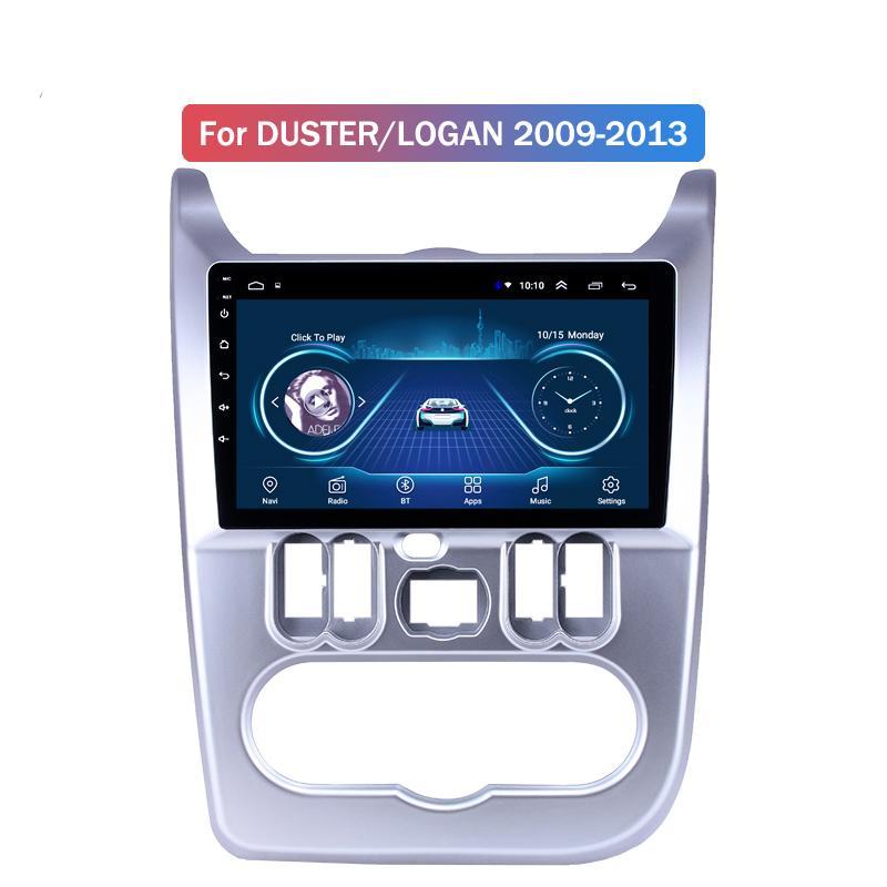 9 inç Android 10 Araç Radyo İçin Renault DUSTER'İN / LOGAN 2009-2013 GPS Ses Kafa Birimi Multimedya Oynatıcı
