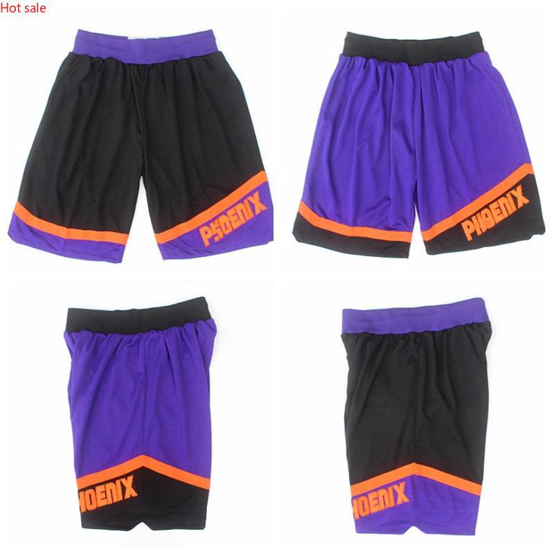 Hot PhoenixSonnenMänner Mitchell Ness 1996-1997 LaubholzClassics Swingman Basketball Basketball Shorts Schwarz