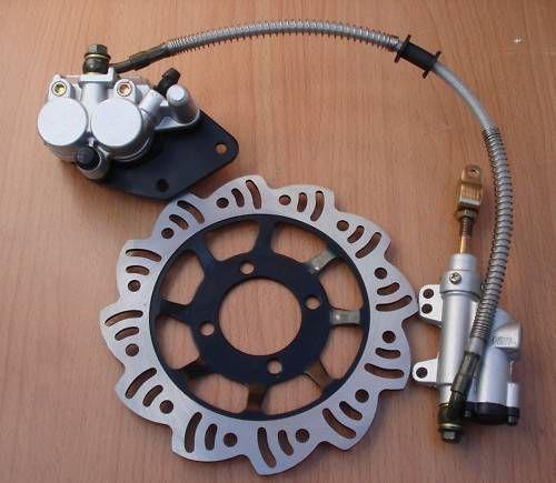 Freno a pedale master cilindro posteriore Pastiglia freno Per 110cc 125cc Dirt Pit Bike