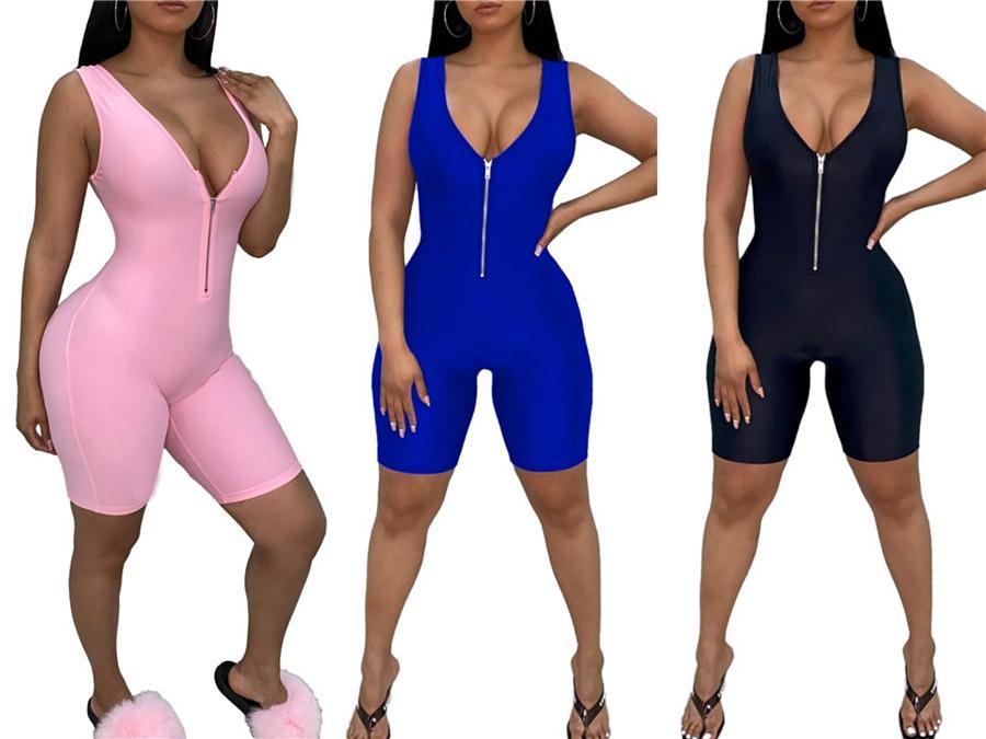 Deri Tulumlar Rompers tulum Uzun Kollu Tulumlar Moda Rahat BODYCON Tulum Bayan Giyim Clubwear Klw2647 # 20319 Womens