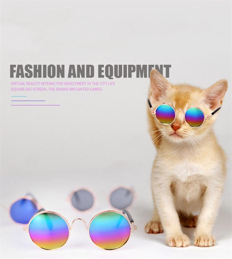 Lovely Pet Cat Glasses Dog Glasses Pet Products For Little Dog Cat Eye-wear Protection Dog Sunglasses Photos Pet Accessoires
