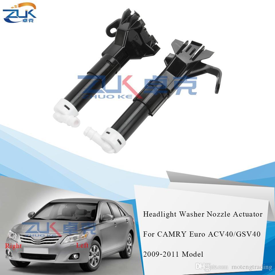 ZUK Фара Фара Шайба сопла Привод для Toyota CAMRY Euro ACV40 GSV40 2009 2010 2011 Не доступен для азиатской модели