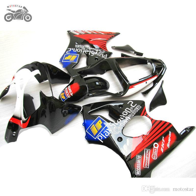 Injektion Motorcykel Fairing Kit för Kawasaki 2005 2006 2007 2008 ZZR600 05-08 ZZR 600 08 05 06 07 Body Repair Fairings Set