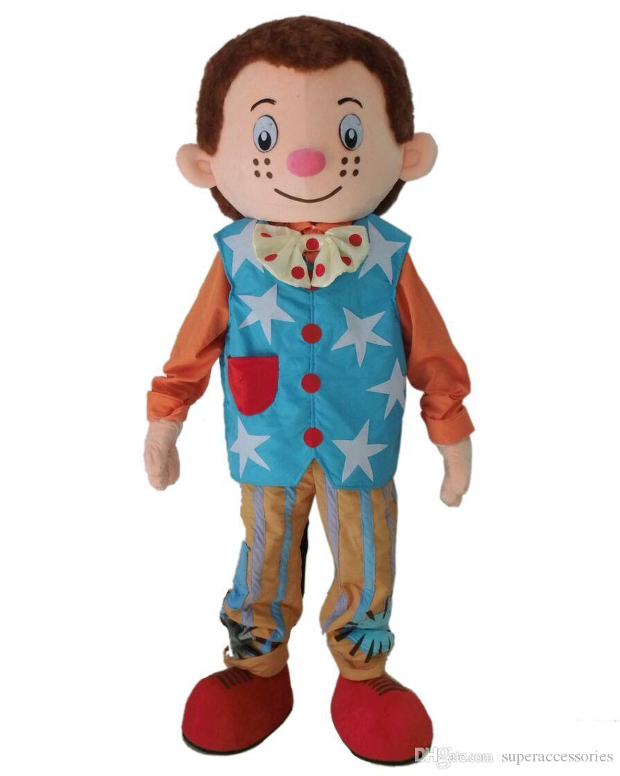 nuevoMr. Tumble mascot costume boy mascot costume for adultos Carnaval de Halloween disfraz