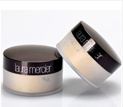 Translucide laura merci Loose Setting Maquillage de poudre 3 Couleur professionnelle Pouder Libre fixante Brighten Correcteur avec la boîte 29g
