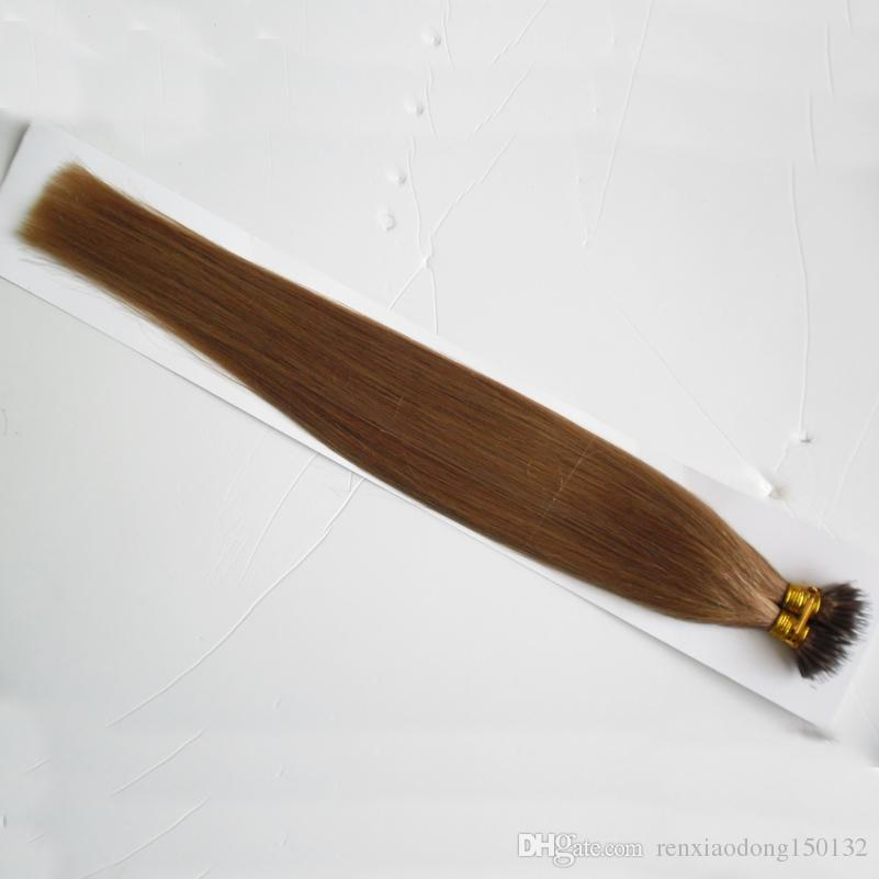 virgin brazilian straight hair 100g Remy Nano Ring Links Human Hair Extensions 1g/s Keratin Straight European Micro Beads Hair 100 Pieces