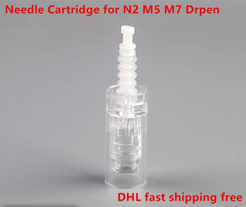 Dr.pen N2 M5 M7 더마 펜 DRpen 니들 핀 DHL 빠른 무료 배송 교체 Dermapen 핀 마이크로 니들 카트리지 팁