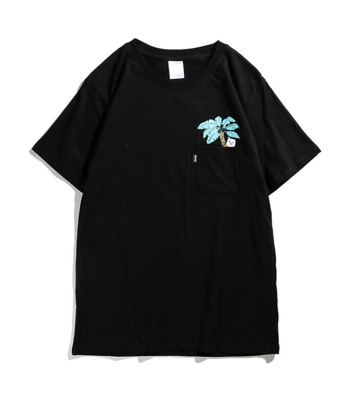 5001bd2520 ... classic brand ripndip cat in pocket t shirt 2017 sport casual rip n dip t  shirt ...