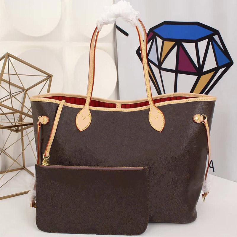 bolsos de diseño original bolso de cuero de las mujeres de los bolsos L flor de diseño de lujo compuesto bolsas de embrague del totalizador del hombro dama femenino billetera