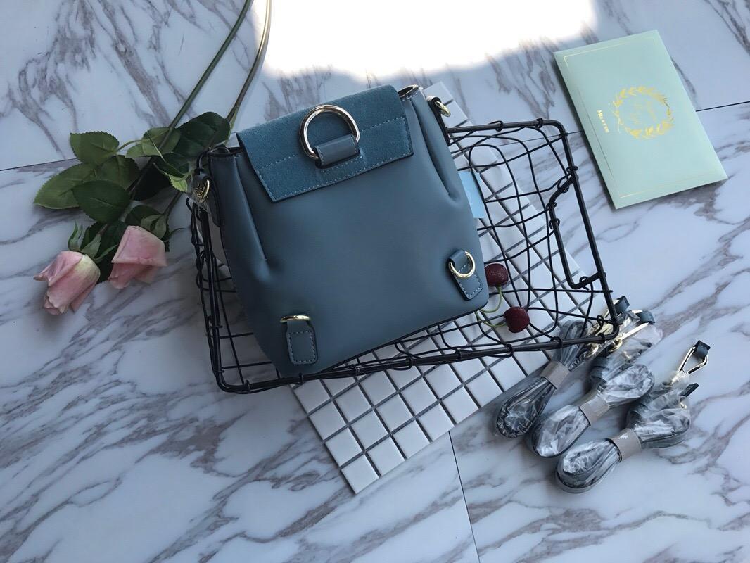 Echter Rucksack Marke High Tote Designer Brieftasche Handtasche Luxus Umhängetasche Designer Frauen Geldbörse Qualität Leder BAC KKLBB