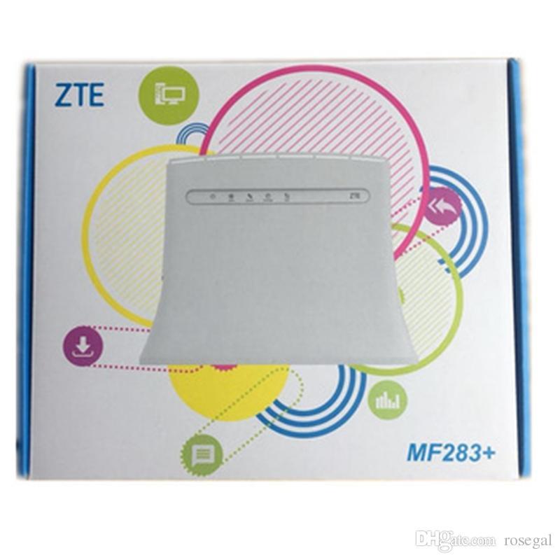 Nouveau routeur sans fil ZTE MF283 + / MF279 / GL09P / MF920V déverrouillé - passerelle sans fil avec 4 interfaces RJ45 1 port USB