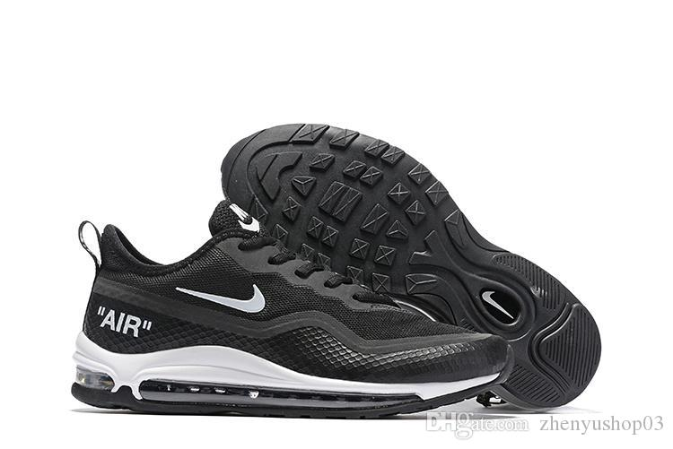 Compre Nike Air Vapormax Max 97 Off White Flyknit Utility Transpirables Masaje Barato Correr Zapatillas Planas Blancas Hombre 97 Zapatos Deportivos Al