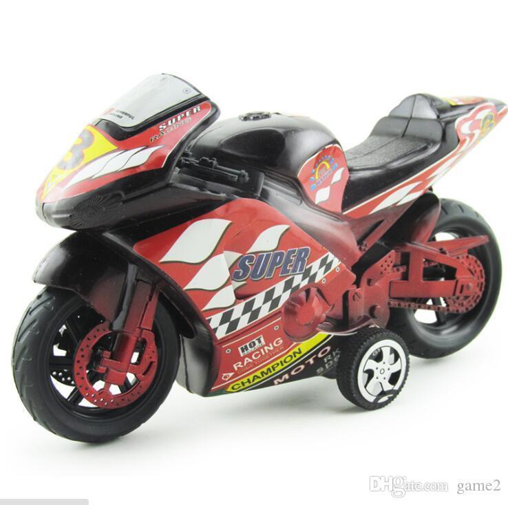 Motorrad-Spielzeugauto Inertia Auto Simulationsmodell für Kinder Kunststoff-Spielzeugauto große Anzahl von Groß-Quellen