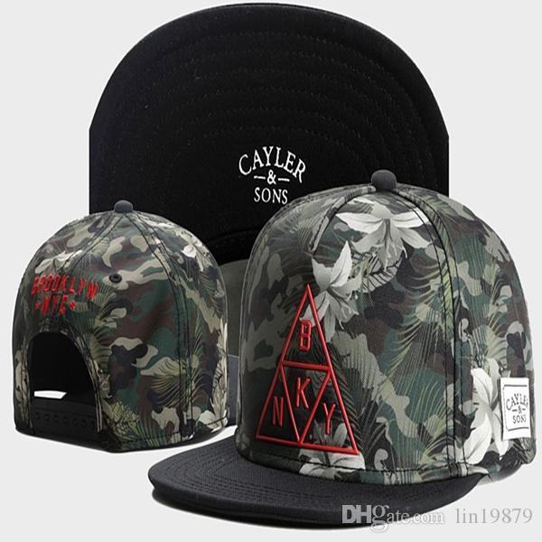Cayler أبناء بروكلين NYC BKNY مابل ليفز قبعات البيسبول الجملة لوح التزلج الرجال الهيب هوب شارع قابل للتعديل Gorras Casquette القبعات Snapback