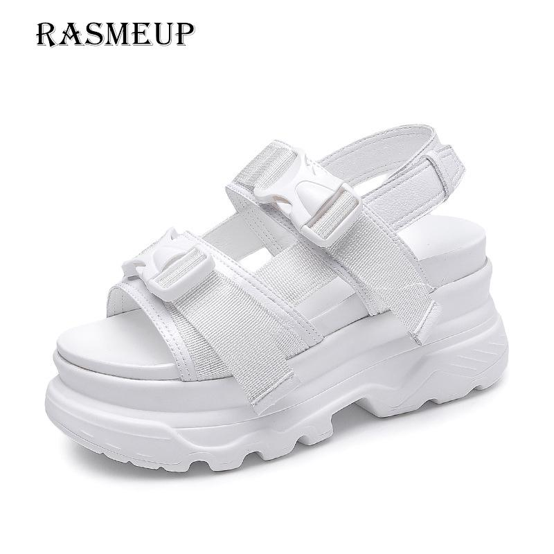RASMEUP Platform Womens Sandals 2019