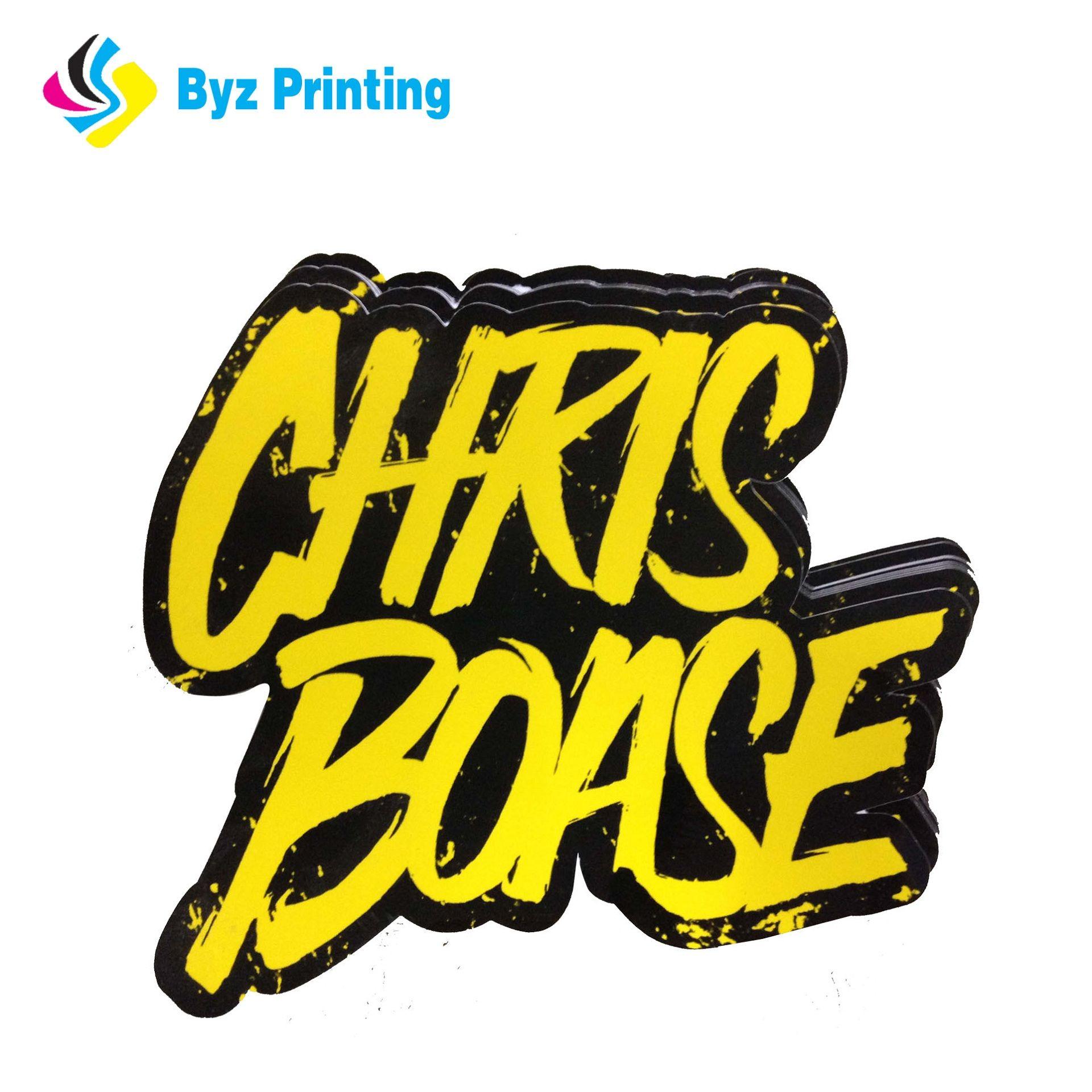 2019 popular design hot selling for custom label sticker printingdie cut logo sticker wholesale from hongyuanunion dhgate com