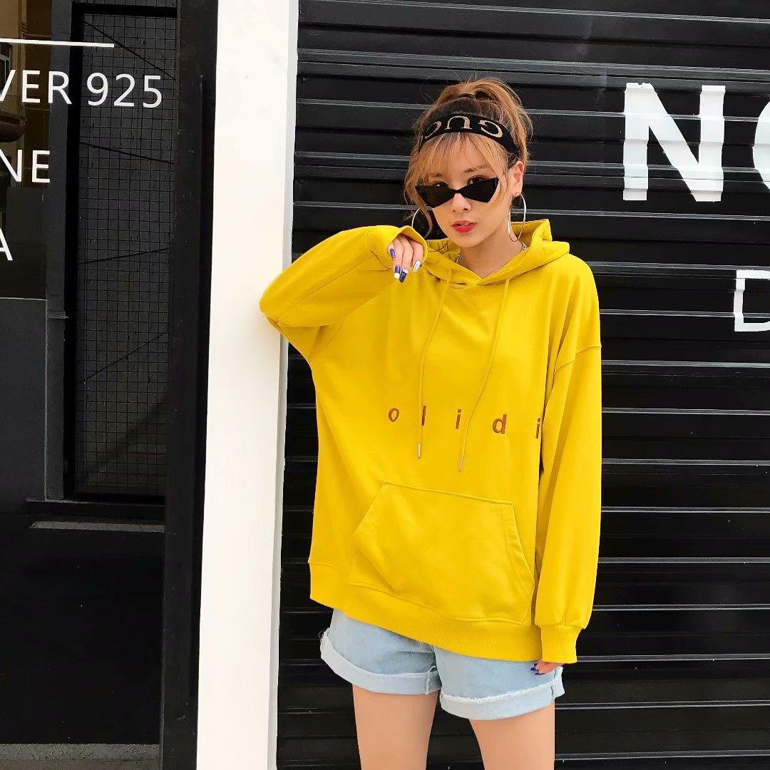 Fashionable Winter Classic high quality breathable ladies' Hoodie KG38