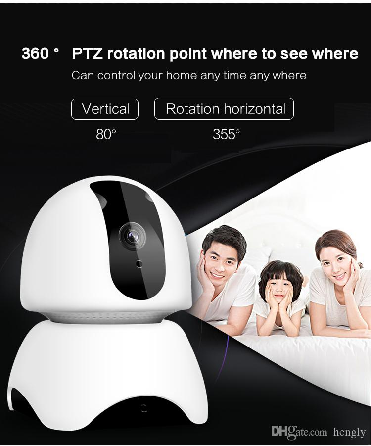Wifi wireless IP Camera Surveillance 1080P HD IR Night Vision Two Way Audio smart Video CCTV Camera Baby Monitor Home Security System
