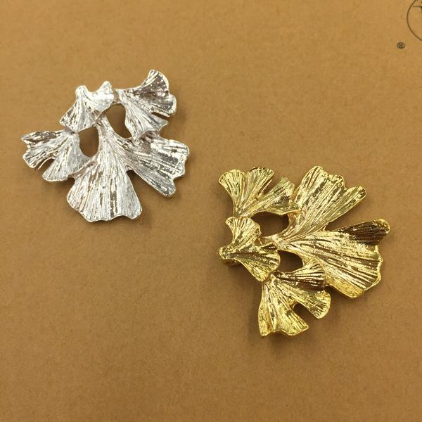 20 PCS 30*28mm Fashion Metal Alloy Gold Silver Tone Branch Connectors Charm For Jewelry Making