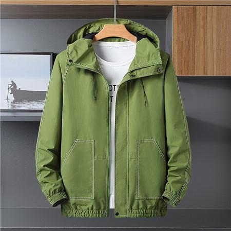 Marque de haute qualité à manches longues 2019 nouveau concepteur mode masculine coupe-vent lâche et couleurs naturelles pour sport manteau avec taille L-5XL QSL198281