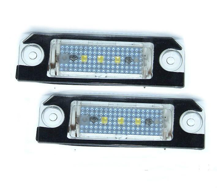 matrícula del coche LED lámparas para VW golf4 / 5 / Polo / Passat del precio de fábrica llevó la luz de matrícula 12V 6000K