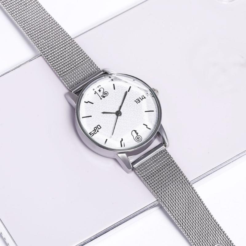 Reloj de las mujeres simple manera ocasional del reloj del cuarzo del reloj de señoras de las mujeres Para Relojes Reloj Zegarek Damski #W