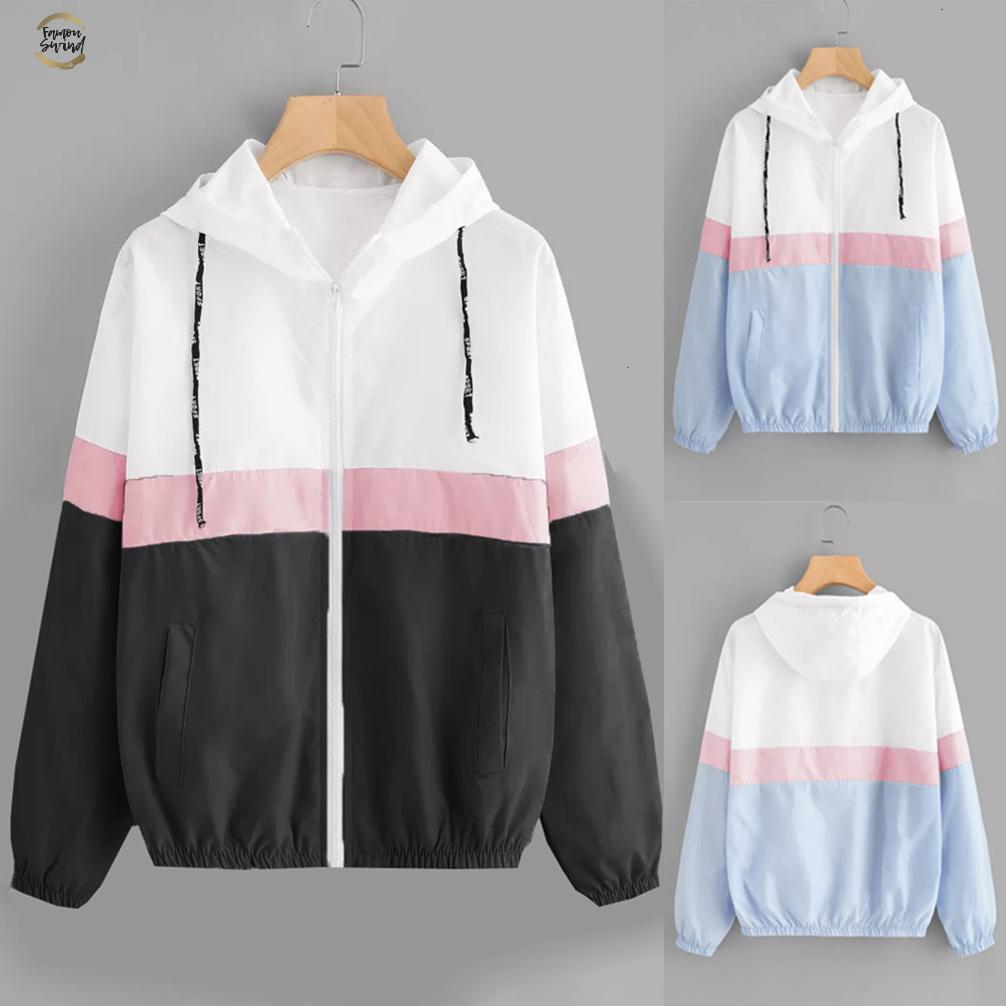 Женская куртка Полный рукавом Лоскутная Тонкий Шинель 2019 Новая мода Solid Outwear Coat Casaco Feminino 18sep13