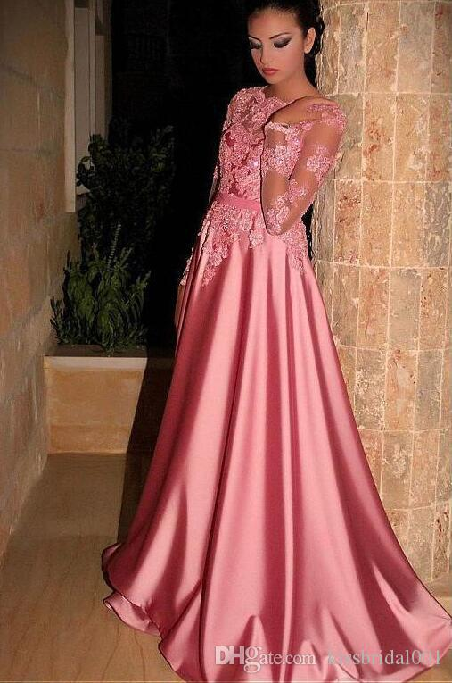 amazon outlet online clearance Abendkleider Long Sleeve Prom Dresses 2019 A Line Beaded Lace Formal  Evening Gowns Cocktail Party Ball Dress Mother Of The Bride Gown Silver  Prom ...