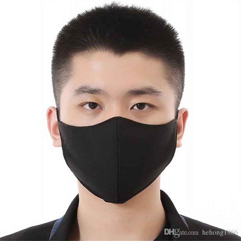Máscaras de ventilação Boca Anti Fog Rosto Protect Mask Homens Mulheres Mascherine Adulto Folding Respiradores Ciclismo 2 5AS H1