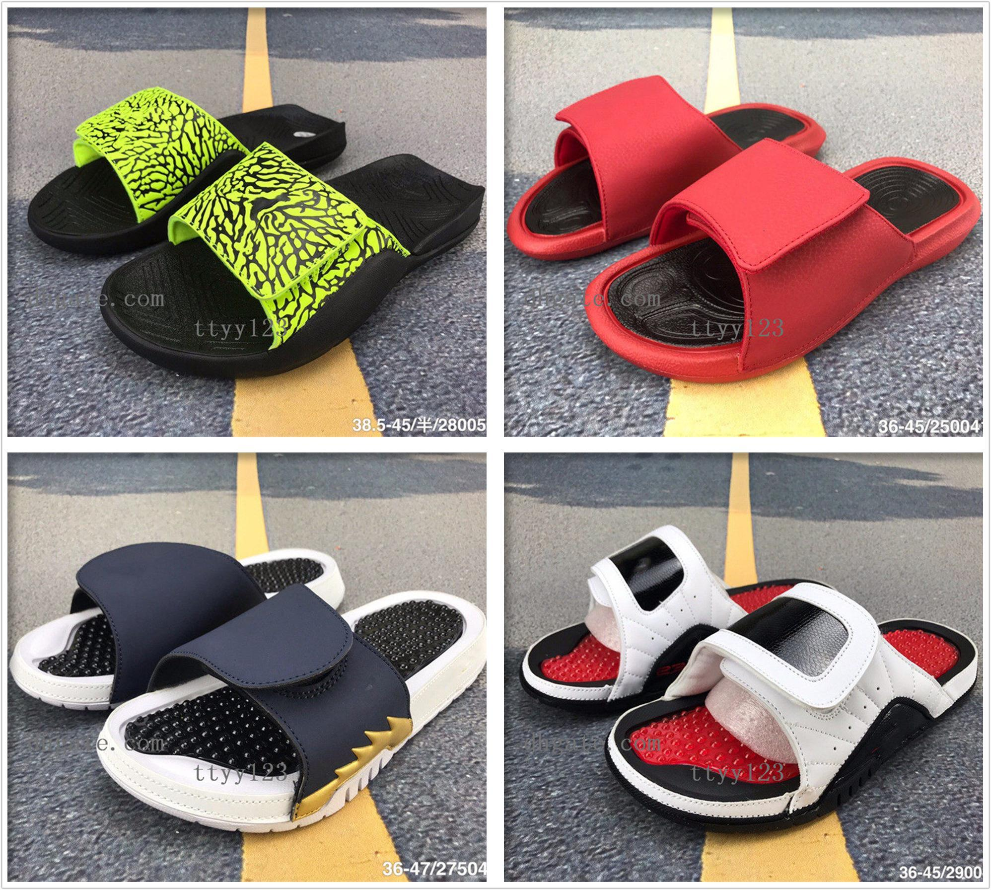 2020 Slipper 6 Sandals Flame 4 Camouflage Multicolor Massage 7 Slippers 5s Red White Black Slides Shoes Outdoor Casual Sports Slipper 36-45