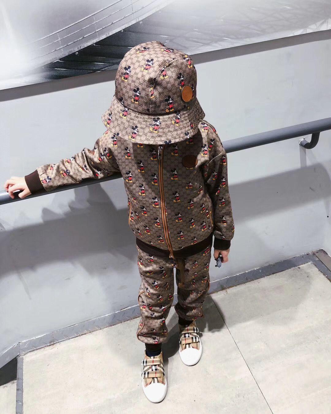 hipping livre novos de moda infantil primavera fatos de treino de outono bebê meninos meninas ternos de roupas de manga longa para a primavera