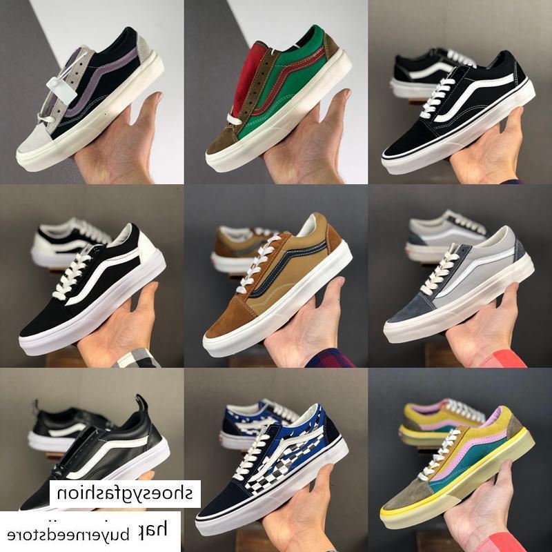 Yeni fahion Vault OG Old Skool Erkek Kaya Alev Yat Kulübü Sharktooth Kaykay Tuval Paten sepetleri Spor ayakkabılar üzerinde kayma Casual Womens Shoes