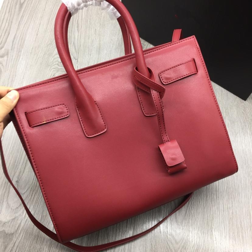 Femmes Sacs à main en cuir véritable de haute qualité noire matelassée chaîne Sac Lady sacs de marque de luxe en cuir véritable femme