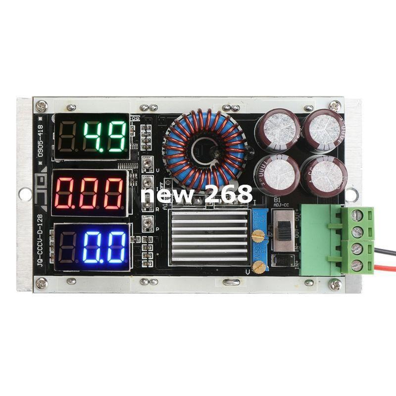 40W 어댑터 DC 7 ~ 26V ~ 1.25 ~ 25V 8A 가변 전압 레귤레이터 / 배터리 충전기 / 노트북 전원 + 3in1 전압 / 전류 / 전력 측정기