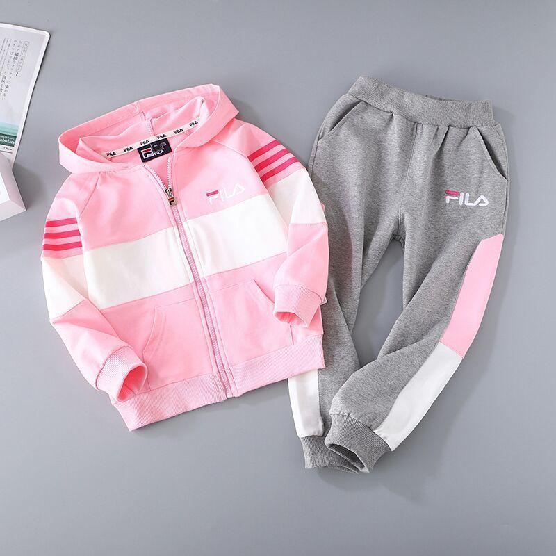 New classic fashion Casual high quality letter printing pattern Long sleeve Hoodie pants set 031402
