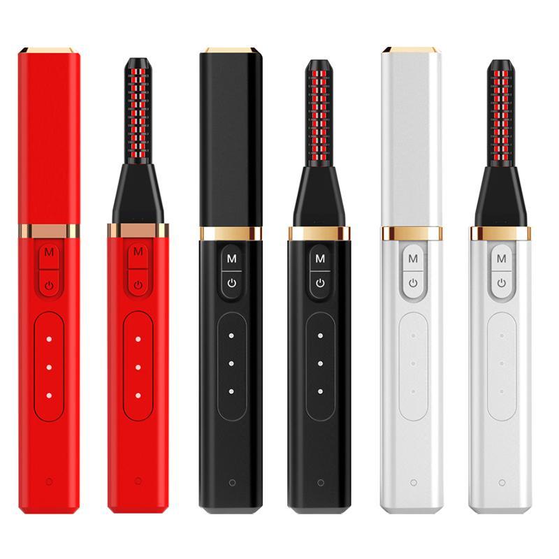 2020 nueva actualización rizador de pestañas elétrico Multifunción USB calentamiento permanente rizador de pestañas mini-rizador de pestaña