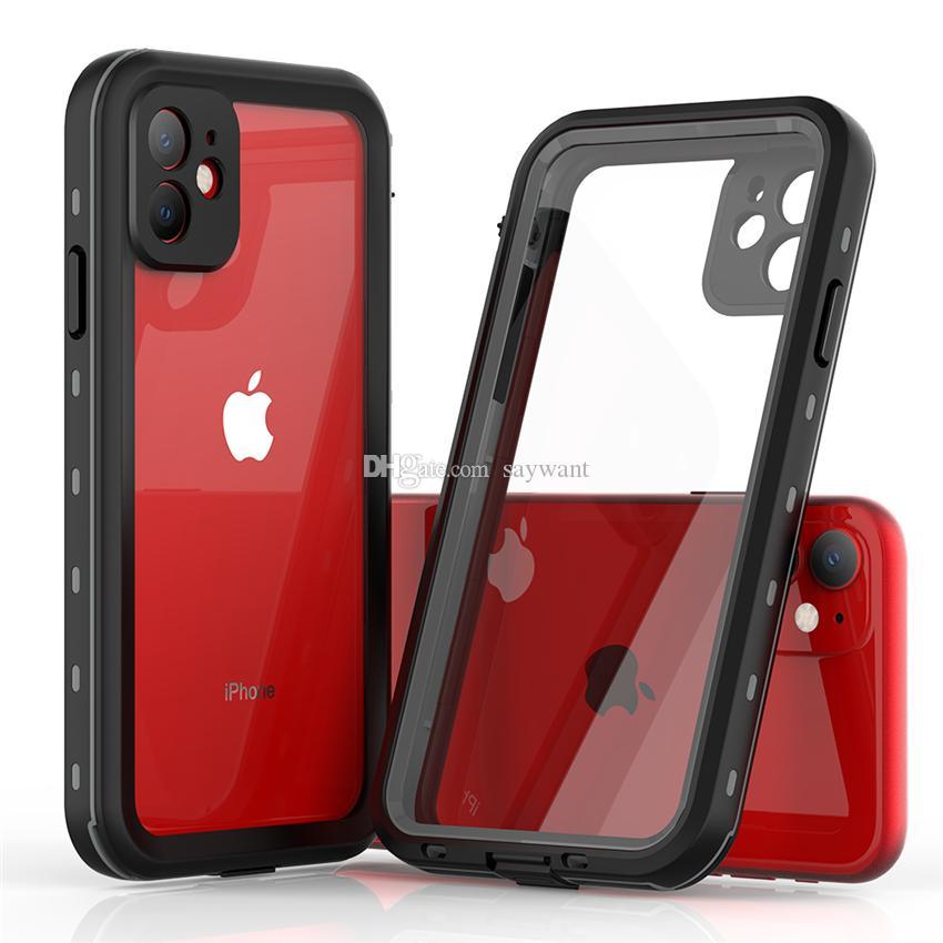 붉은 고추 IP68 방수 전화 케이스 아이폰 (11) 프로 X XR XS 최대 HUAWEI P20 P30 Pro는 삼성 S20 울트라 충격 방지 케이스