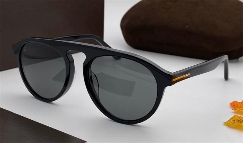 موضة جديدة البوب النظارات الشمسية النظارات 781 لوحة إطار حماية قطعة مستديرة ذات جودة عالية وأسلوب بسيط UV400 مع مربع