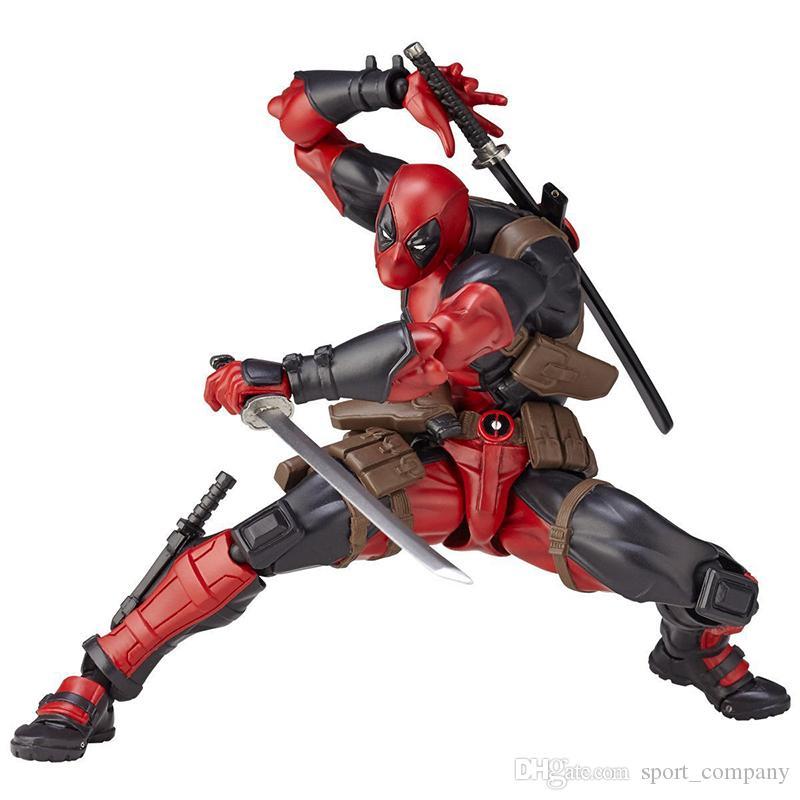 Acheter 16 Cm Marvel Dessin Anime Super Heros X Men Deadpool Pvc